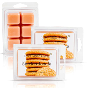 Snickerdoodle - Cookie Scented Wax Melt - 2 Ounce - 6 Cubes