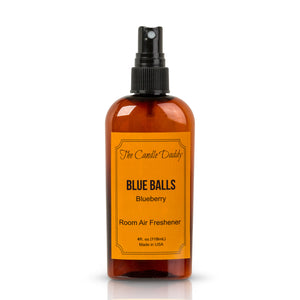 Blue Balls - Blueberry Scent - Maximum Scented Room Air Freshener Spray - 4 Ounce Bottle With Spray Top - Hand Made In Indiana