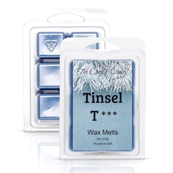 Tinsel Tits - Mountain Top Tease Scented Melt- Maximum Scent Wax Cubes/Melts- 1 Pack -2 Ounces- 6 Cubes
