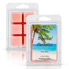 Tropical Paradise Scented Wax Melt Cubes - 2.4 Ounces - 1 Pack