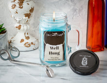 Well Hung - Fresh Linen Scented Candle- 10 Ounce - 80 Hour Burn