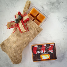 5 Pack - Well Hung - Fireplace Scented Wax Melt Cubes - 2 Oz x 5 Packs = 10 Ounces