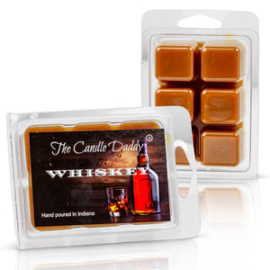 5 Pack - Whiskey Bourbon Wax Melt Cubes - 2 Oz x 5 Packs = 10 Ounces