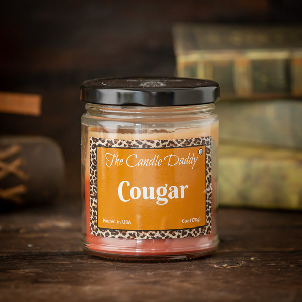 Cougar - After Hours Bake Sale Scented - 6 Ounce Jar Candle - 40 Hour Burn