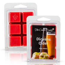 Dickens Cider - Mulled Cider Scented Wax Melt Cubes - 2.4 Ounces - 1 Pack