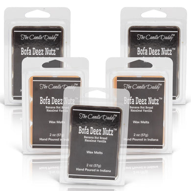 5 pack- Bofa Deez Nutz Wax Melts 5 (five) x 2 oz Packs