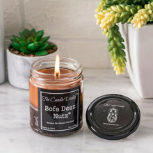 Bofa Deez Nutz  Funny Jar Candle- 6 Ounce - 40 Hour Burn