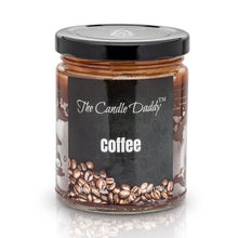 Coffee Scented Candle- 6 Ounce - 40 Hour Burn- The Candle Daddy- Hand poured in Indiana