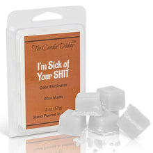 1 pack- I'm Sick of Your Shit- Odor Eliminator Scented Wax Melts 1 (one) 2 oz Packs