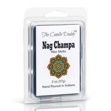 5 pack- Nag Champa Scented Wax Melts 5 (five) 2 oz Packs