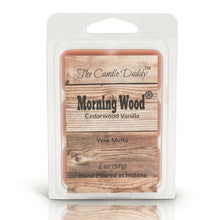 1 pack -Morning Wood - Heavy Wood Scent- Cedarwood Vanilla Scented Wax Tart Melt 1 (one) 2 oz Packs