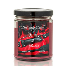 Wiffs & Chains Red Leather - 6 Ounce - 40 Hour Burn