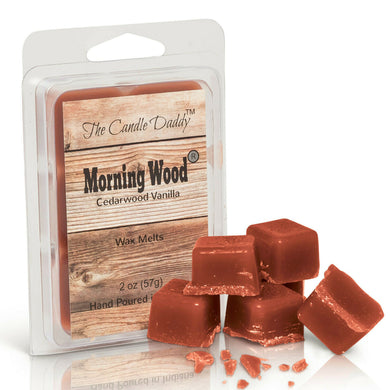 Morning Wood - Heavy Wood Scent - Cedarwood Vanilla Scented Wax Melt