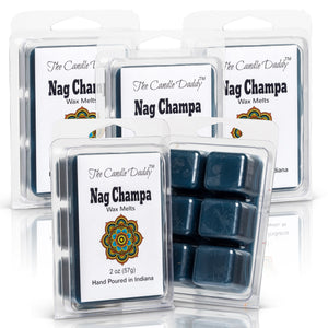 Five (5) 10 oz. Nag Champa Wax Melts Tarts Incense