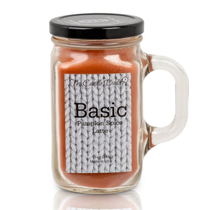 BASIC- Pumpkin Spice Latte Candle - Fun and Funny -10 Ounce- Made in USA
