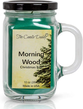 Morning Wood- Christmas Tree Scented Candle- Funny 10 oz- Made in USA