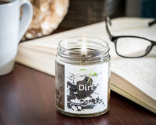 Dirt- Earth- Ground Scented Jar Candle- 6 Ounce- The Candle Daddy- Hand Poured in Indiana