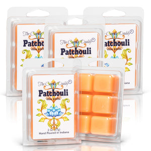 5 pack- Patchouli Scented Wax Tart Melts 5 (five) 2 oz Packs