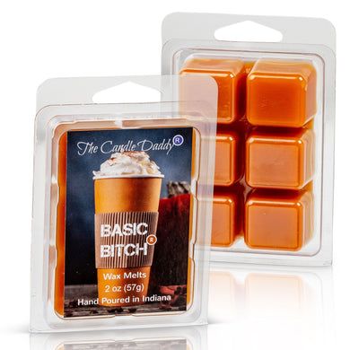 Basic Bitch - Pumpkin Spice Scent - Maximum Scented Wax Melts - 2 Ounce