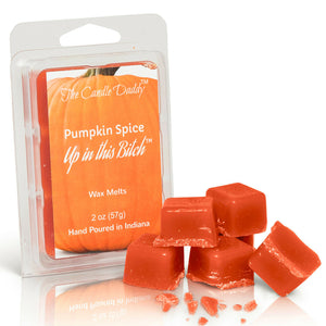1 pack- Pumpkin Spice Up In This Bitch Wax Tart Melts 1 (one) 2 oz Pack