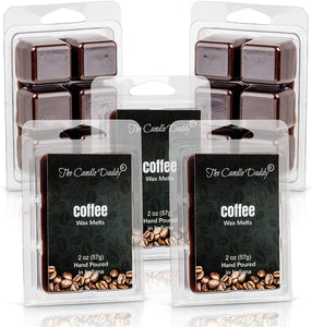 5 pack - Coffee Scented Wax Tart Melts 5 (five) 2 oz Packs