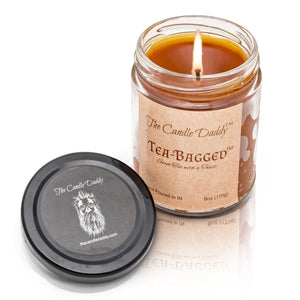 Tea Bagged- Sweet Tea with a Twist Scented Jar Candle- 6 oz- The Candle Daddy- Hand Poured in Indiana