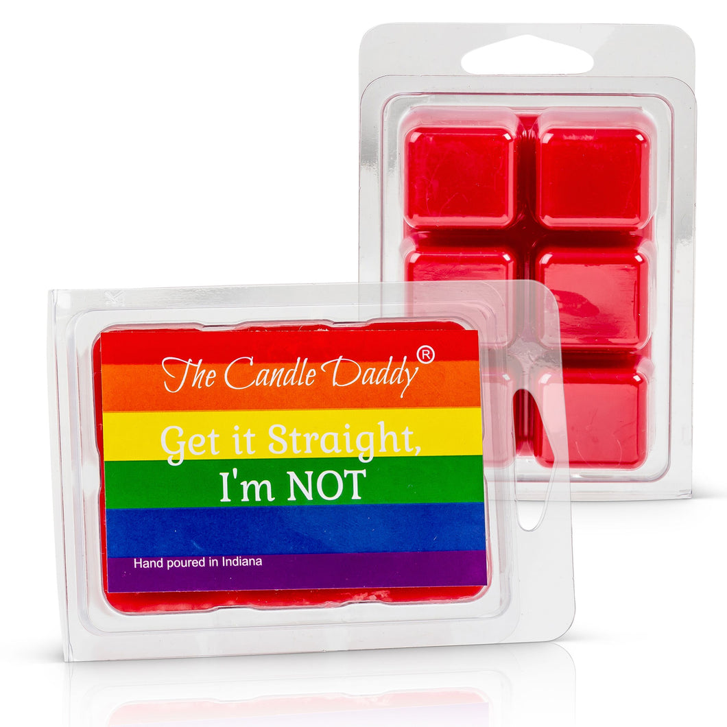Get it Straight, I'm Not- Watermelon (or any scent) Scented Wax Tart Melts