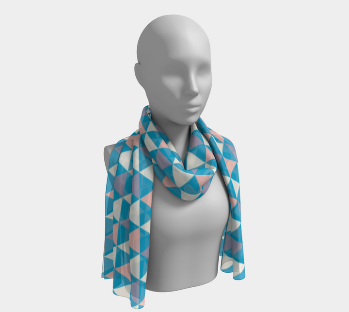 Cool Triangle Long Scarf - Spgetti