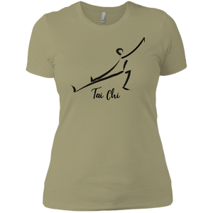 Light Olive Tai Chi Tai Chi Ladies' Boyfriend T-Shirt