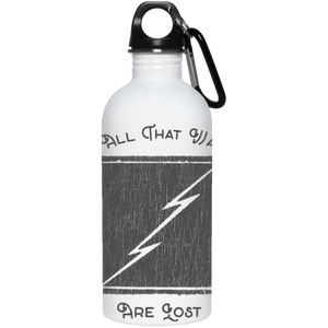 Not All Who Wander Are Lost 20 oz. Stainless Steel Water Bottle - Spgetti
