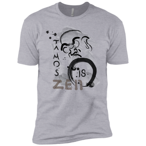 Heather Grey Ta Mo's (Bodhidarma)18 Zen t-shirt  Dri-Fit Moisture-Wicking T-Shirt