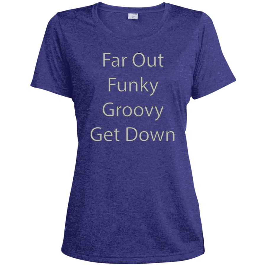 Far Out Funky Get Down Dri-Fit Moisture-Wicking T-Shirt - Spgetti