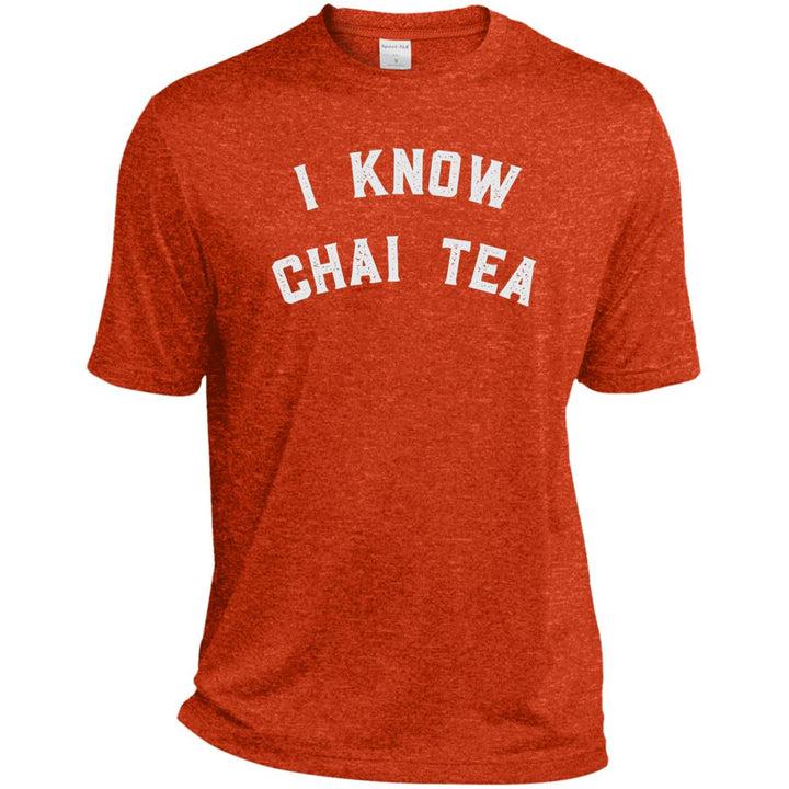 I Know Chai Tea  Dri-Fit Moisture-Wicking T-Shirt - Spgetti