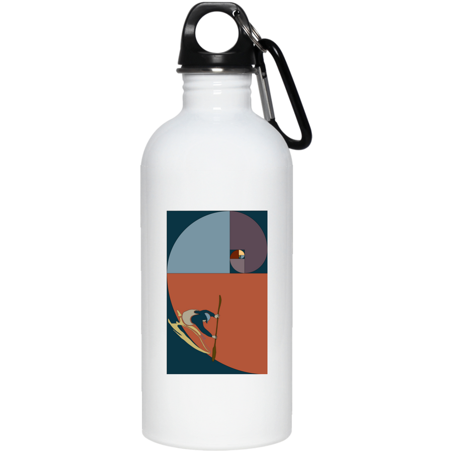 Fibonacci Kayak 20 oz. Stainless Steel Water Bottle - Spgetti