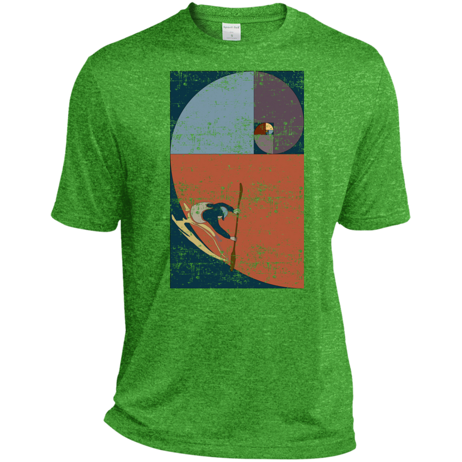 Fibonacci Kayak Vintage Dri-Fit Moisture-Wicking T-Shirt - Spgetti