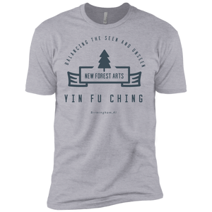 Heather Grey Vintage Yin Fu Ching Premium Short Sleeve T-Shirt