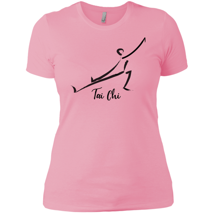 Light Pink Tai Chi Tai Chi Ladies' Boyfriend T-Shirt