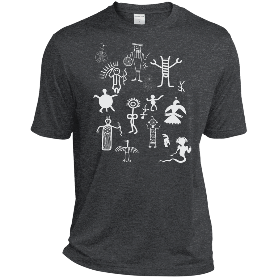 Petroglyphs Dri-Fit Moisture-Wicking T-Shirt - Spgetti