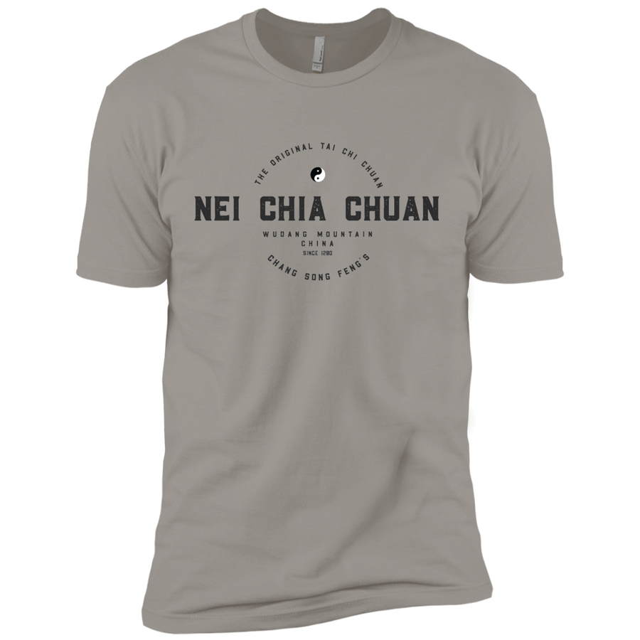 Light Grey Vintage Tai Chi Premium Short Sleeve T-Shirt