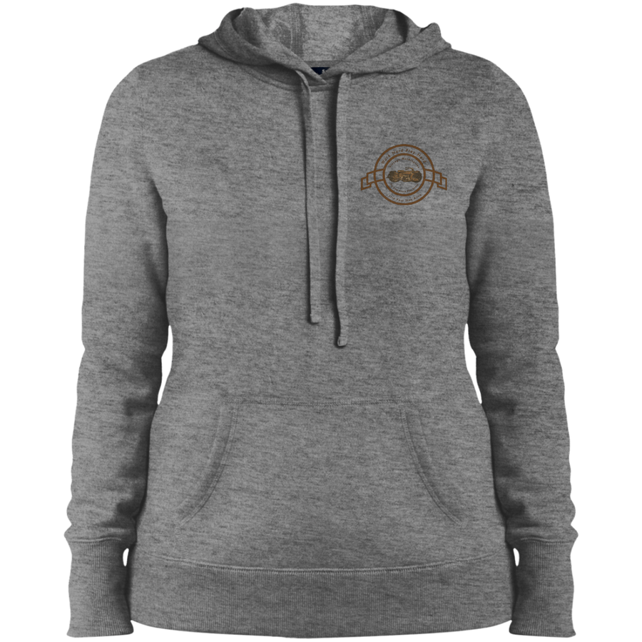 Vintage Motorcycle Ladies' Pullover Hooded Sweatshirt - Spgetti