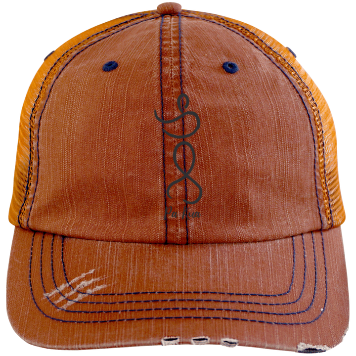 Pa Kua Distressed Cap - Spgetti