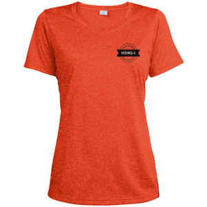 Hsing-I Ladies' Heather Dri-Fit Moisture-Wicking T-Shirt - Spgetti