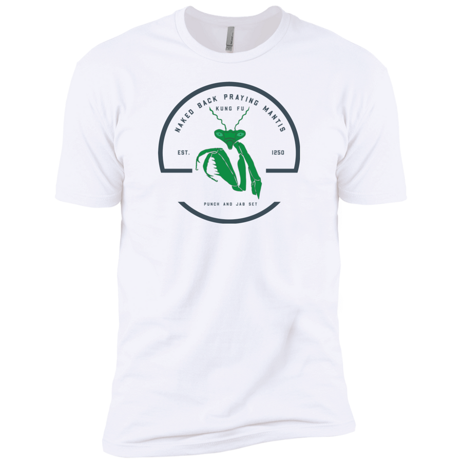 Praying Mantis Vintage Premium Short Sleeve T-Shirt - Spgetti