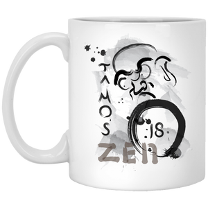 Ta Mos 18 Graphic-1 11 oz. White Mug - Spgetti