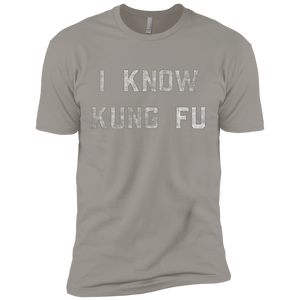 I Know Kung Fu Premium Short Sleeve T-Shirt - Spgetti
