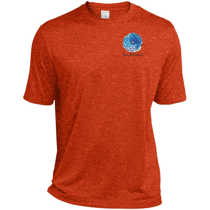 TaoMatrix Heather Dri-Fit Moisture-Wicking T-Shirt