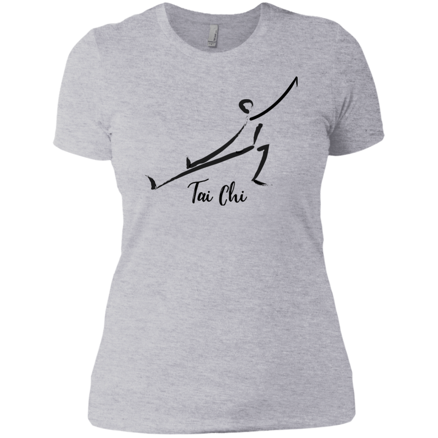 Heather Grey Tai Chi Tai Chi Ladies' Boyfriend T-Shirt