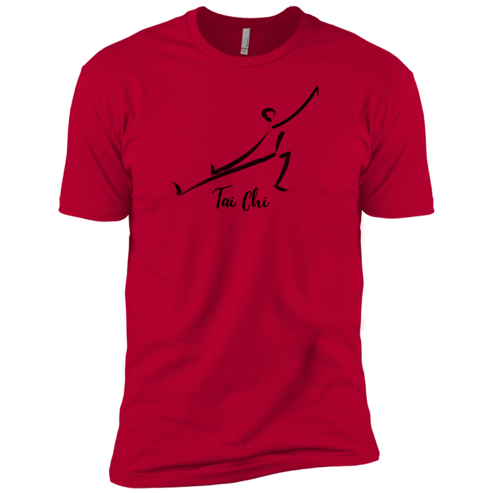 Red  Tai Chi Premium Short Sleeve T-Shirt