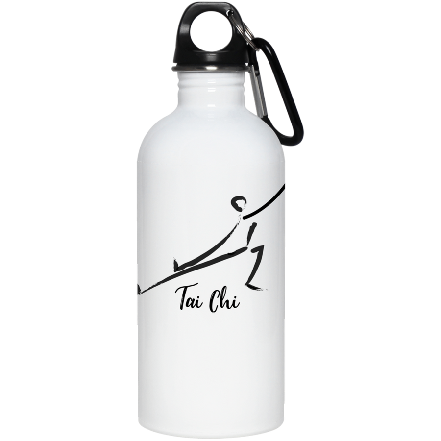 Tai Chi 20 oz. Stainless Steel Water Bottle - Spgetti