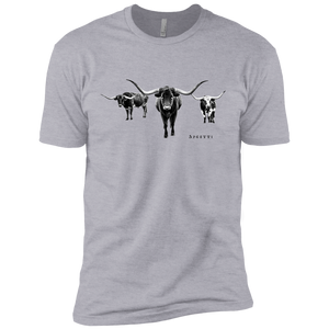 Longhorns Premium Short Sleeve T-Shirt - Spgetti